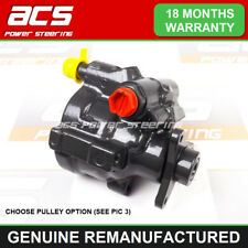 RENAULT MASTER POWER STEERING PUMP 2001 TO 2010 - GENUINE RECONDITIONED