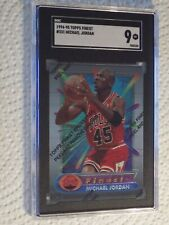 Michael Jordan SGC Graded Mint 1994/95 Topps Finest #331