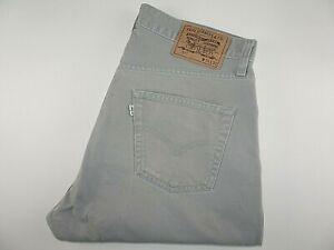 "VTG* LEVIS 517 Mens Jeans Straight Leg Grey Denim SIZE W34 L30 Waist 34"" Leg 30"""