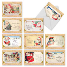 M9976XSG Christmastime Rhymes: 10 Assorted Christmas Note Cards /Envelopes.