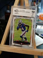 2014 TOPPS #434 SAMMY WATKINS GRADED ROOKIE FOOTBALL CARD BCCG 10 MINT