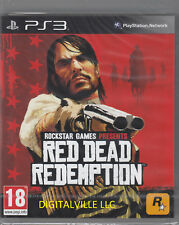 Red Dead Redemption PS3 Sony PlayStation 3 Brand New Factory Sealed