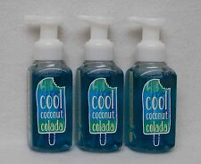 Bath & Body Works Cool Coconut Colada Gentle Foaming Hand Soap Set of 3
