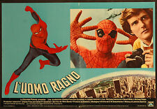 CINEMA-fotobusta L'UOMO RAGNO SPIDERMAN hammond, white, SWACKHAMER