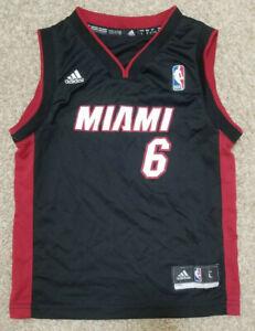 NBA Miami Heat #6 James Boy's Sleeveless Shirt Size Large w