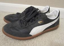 PUMA Super Ligo retro indoor soccer shoes sneakers navy sz 8.5 EUC