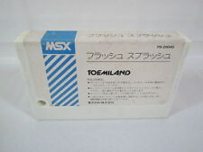 MSX FLASH SPLASH Cartridge only Import Japan Video Game msx