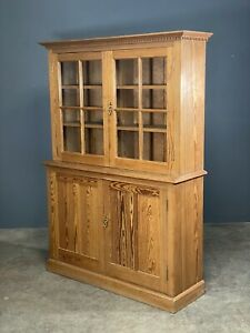 Victorian Pitch Pine Cabinet