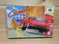 Cruis'n USA (Nintendo 64, 1996) Tested Game and Box N64 BOX COVERED IN TAPE