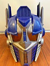 Transformer Optimus Prime Voice Changer Talking Helmet Hasbro 2006 COSPLAY WORKS
