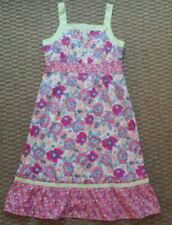 Hanna Andersson womens floral print sundress size 10