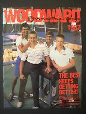 Camp Woodward, Gymnastics Camp, Vintage 1987 Program Brochure