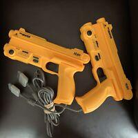 THE HEATER GUN CONTROLLER NUBY PLAYSTATION 1 PS1 & 2 VTG LIGHT PISTOL SOLD AS-IS