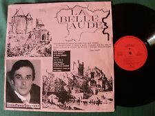 LA BELLE AUDE par JEAN RENE LAURENT & R GINER - LP private press France 1970s