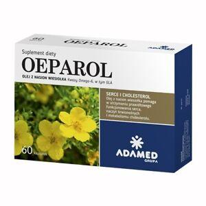 OEPAROL, olej z nasion wiesiołka, 60 kaps - evening primrose oil