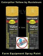 New listing Caterpillar Yellow Paint (2 - 15 oz Spray Cans) Rustoleum Industrial Enamel Cat