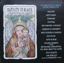 NATIVITY IN BLACK POSTER, BLACK SABBATH TRIBUTE(SQ10)