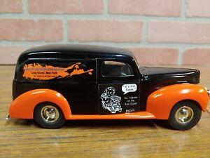 "ERTL JLE#GD-6047 1940 Ford Panel Van Bank ""Hempstead Harley Davidson"" NY"