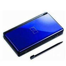 Neuf Cobalt Black Bleu Nintendo ds lite Console System and free Protect Films