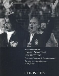 Christie's Catalogue Iconic Sporting Collections 2007