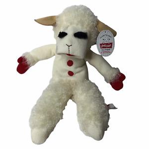 """Lamb Chop Talking Puppet Plush 17"""" Aurora Shari Lewis 2014 NEW & WORKS"""