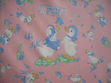 Unused Moda vintage style cotton fabric 'Lucy's Feather Bed' - ducks, 1M lengths