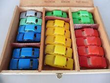 Konvolut 18 Stück H0 1:87 Wartburg PKW in verschiedenen Farben