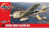 Airfix Model Kit Focke Wulf Fw190A-8 1:72 Scale WW2 Military War Aircraft Plane