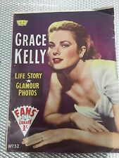 1959 Grace Kelly No. 32 Fans Star Library Magazine