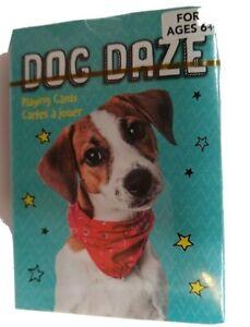 Dog Daze  Playing Cards New  Age 6 +