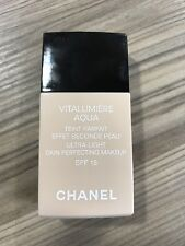 Chanel Vitalumiere Aqua B40 Beige Desert 30ml New Full Size Foundation