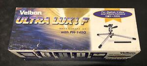Velbon Ultra Lux i F Lightweight Photo/Video Tripod with PH-145Q