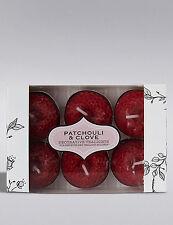 New M&S 1 Pack Patchouli & Clove Decorative Tealights x 6