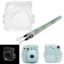 Plastic Transparent Camera Shell Case Cover Bag For Fuji Fujifilm Instax Mini 8