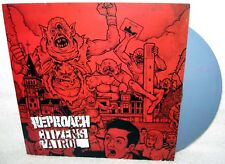 "REPROACH CITIZENS PATROL 7"" EP PUNK ROCK Fastcore COLOR VINYL Limited Pressing X"