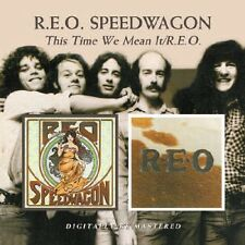 REO Speedwagon - This Time We Mean It / Reo [New CD] Rmst