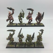 WARHAMMER AGE OF SIGMAR CHAOS DEATH GUARD NURGLE PLAGUEBEARERS METAL PAINTED