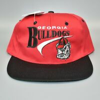 Georgia Bulldogs NCAA US College Collection Vintage 90's Snapback Cap Hat