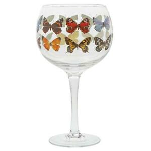 Gin Glass with Butterflies by Ginology