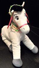 "Disney Plush Horse Samson Sleeping Beauty Pony Stuffed Animal 14"" Spring Fair"