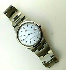 OMEGA SEAMASTER CAL 1012 AUTOMATIC 23 JEW, SILVER DIAL, ST-ST, DATE, MEN´S WATCH