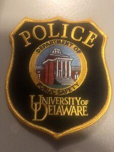 Delaware   Police -  University of Delaware DPS Police  DE  Police  Patch