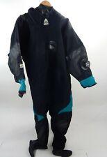 Usia Techniflex Dry Suit Xxl w/Size 9 Boots Rear Entry