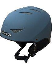 HardnutZ Ski Helmet Grey Adult Snowboard New HN-101 Mens Ladies Unisex New