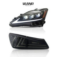 LED Lights For Lexus IS250 350 ISF 2006-2013 Full LED Headlights & Tail Lights