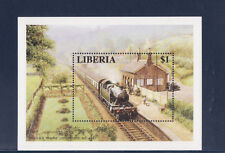 Libéria   bloc  train   locomotive   1994