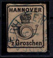 G128670 / GERMAN OLD STATES / HANOVER / MI # 17 USED CV 300 $
