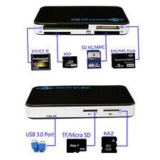 USB 3.0 SD Memory Card Reader Card Reader Adapter CF Micro SD TF X Multi Memory