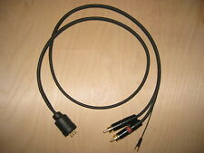 Van den Hull D-502 phono cable for EMT 929, 997 and older Ortofon tonearms