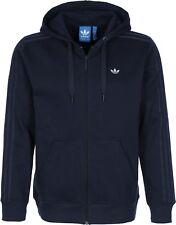 Men's New Adidas Originals Zip Hoodie Hoody Hooded Sweatshirt Jumper Jacket Top